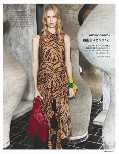 Lina Berg for Numéro Tokyo