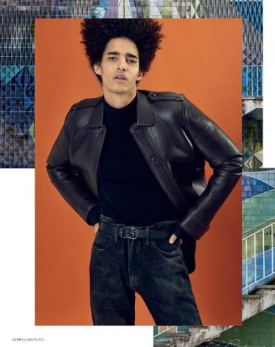 Luis Borges for Gq Portugal