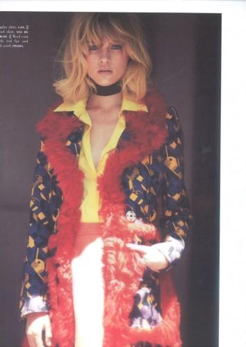 Eva Biechy represented by MadModels