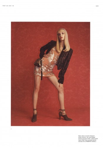 Lina Berg for Pop by Johnny Dufort